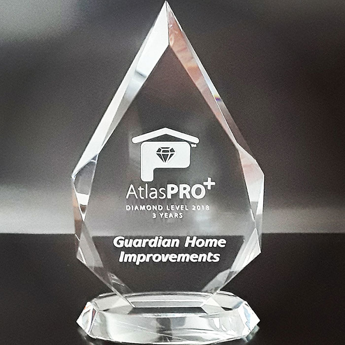 Atlas Pro+ Diamond Level 2018 Award