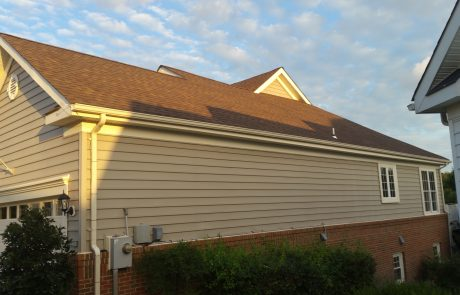 Dews – After Garage Siding